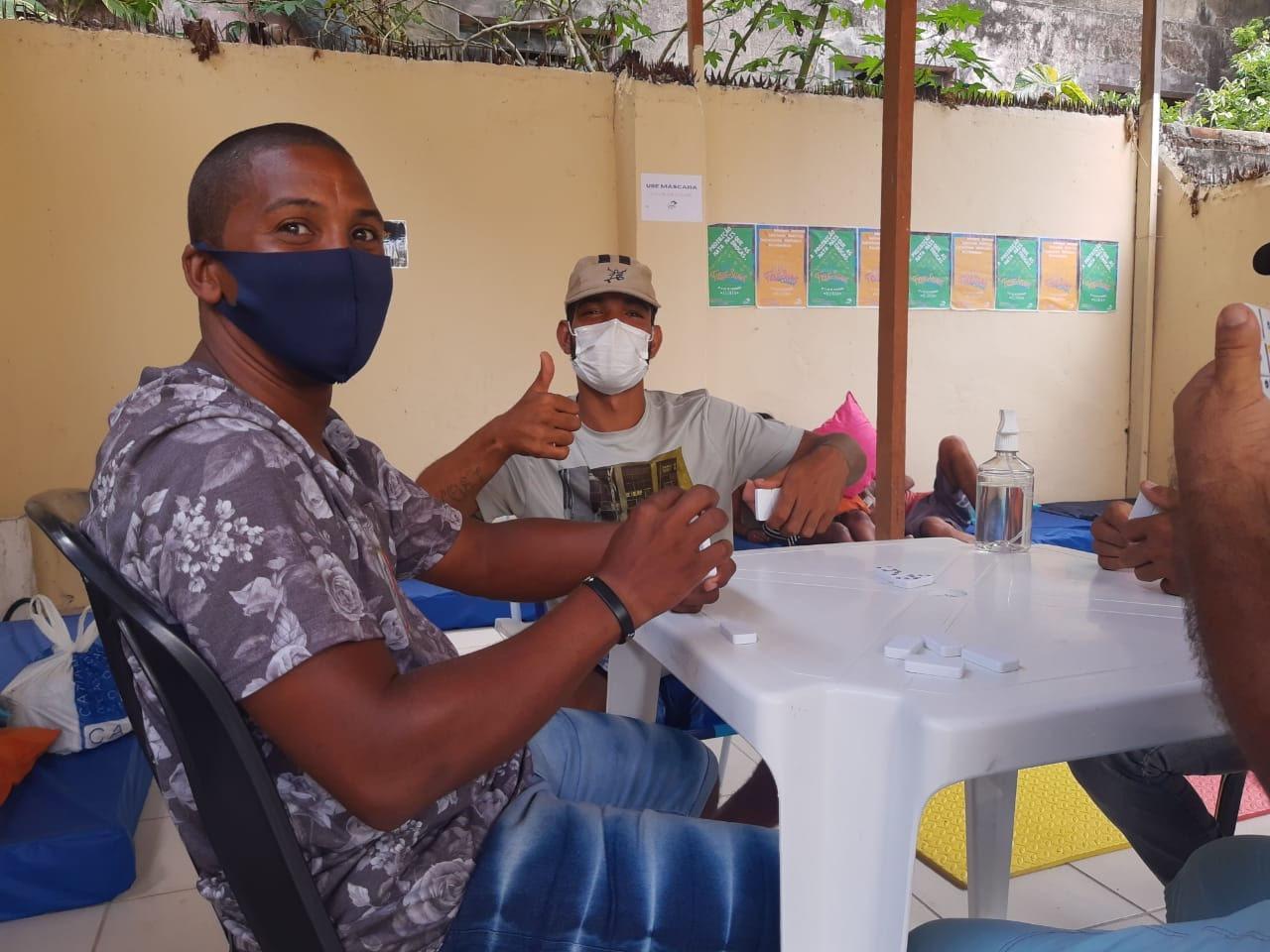 (MATÉRIA ALMA PRETA) Escola de Redução de Danos inaugura Centro de Convivência para população de rua do Recife