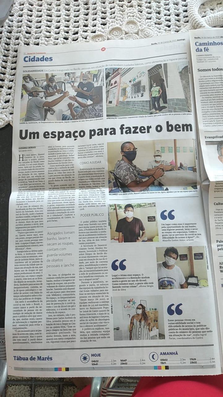 Último Jornal Impresso do Jornal do Comércio