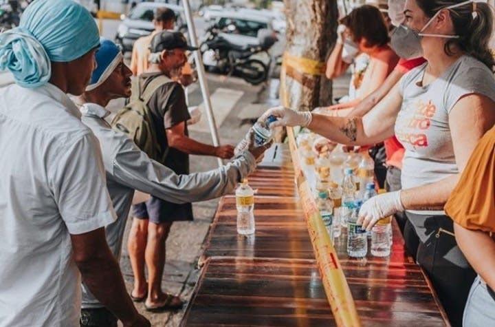 O Movimento Unificados pela população de rua e o seu papel no combate a pandemia do novo coronavírus